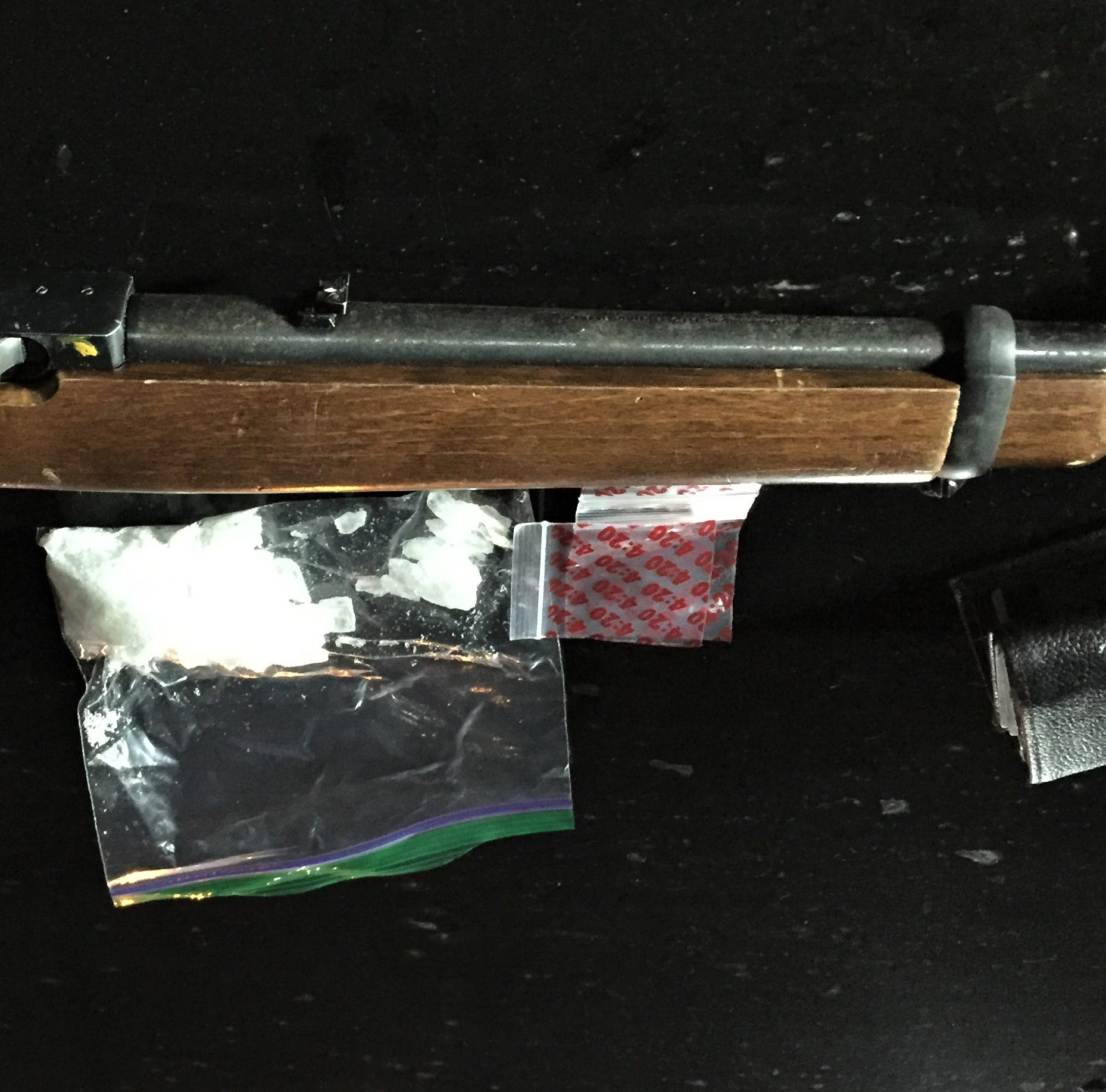 Oxnard traffic stop yields meth, gun; 1 arrested