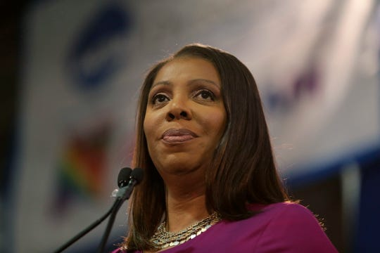 Letitia James, state attorney general, condemned a video posted on Facebook by the Rockland County Republican Party as anti-Semitic. The video was later removed.