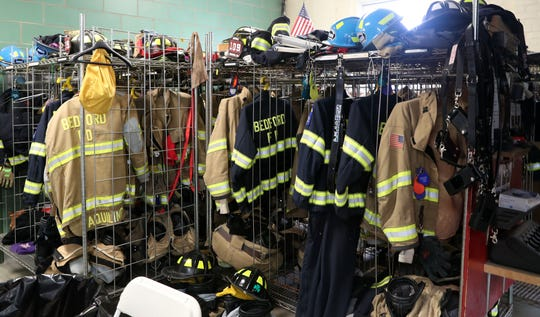 The Bedford Village Fire Department hosted an open house and recruitment drive at their firehouse on the Village Green April 28,  2019. Volunteer firehouses across New York state are taking part in RecruitNY, a recruitment drive to sign up new members.