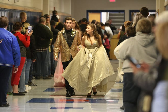 Zanesville High School has a tentative date of April 24 for this year's prom.
