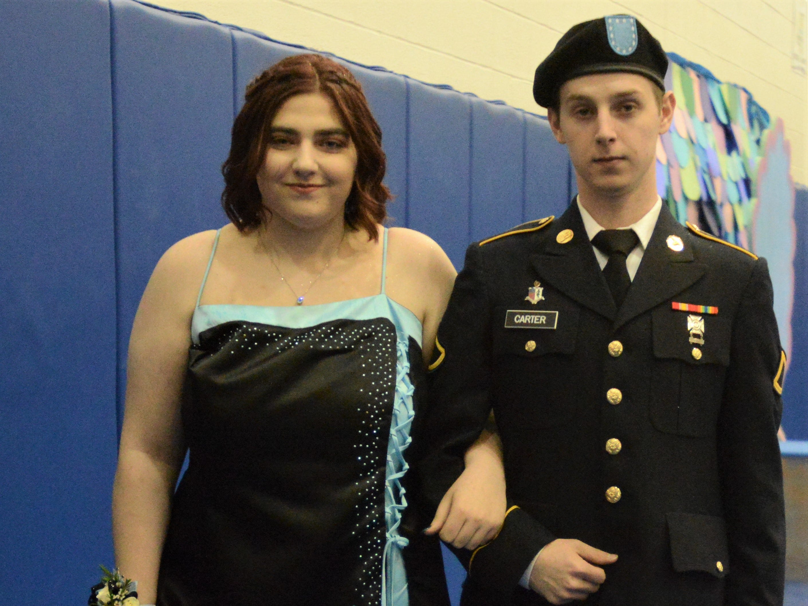 Mystical Waters was the theme of West Muskingum High School's prom Saturday night.