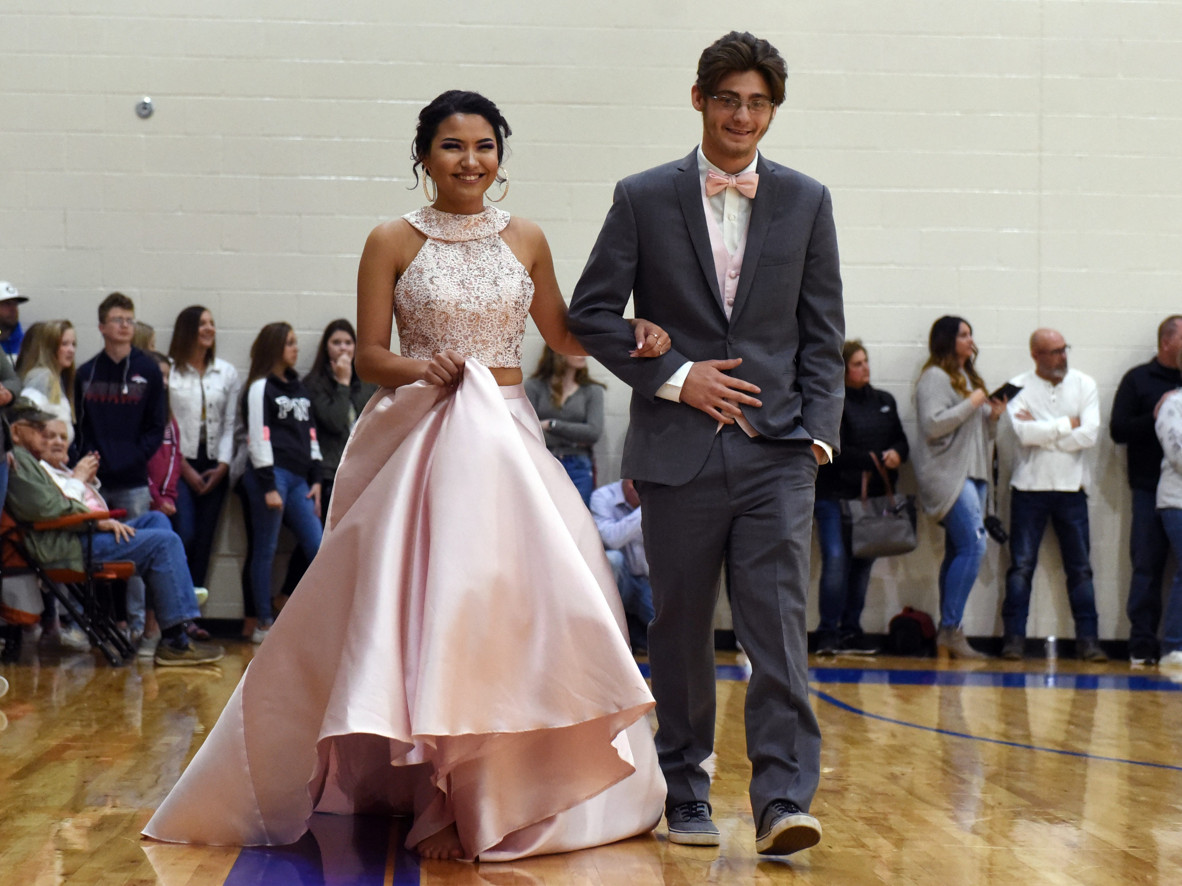 Maysville High School held its prom on Saturday night,  at the high school. The theme was In Living Color.