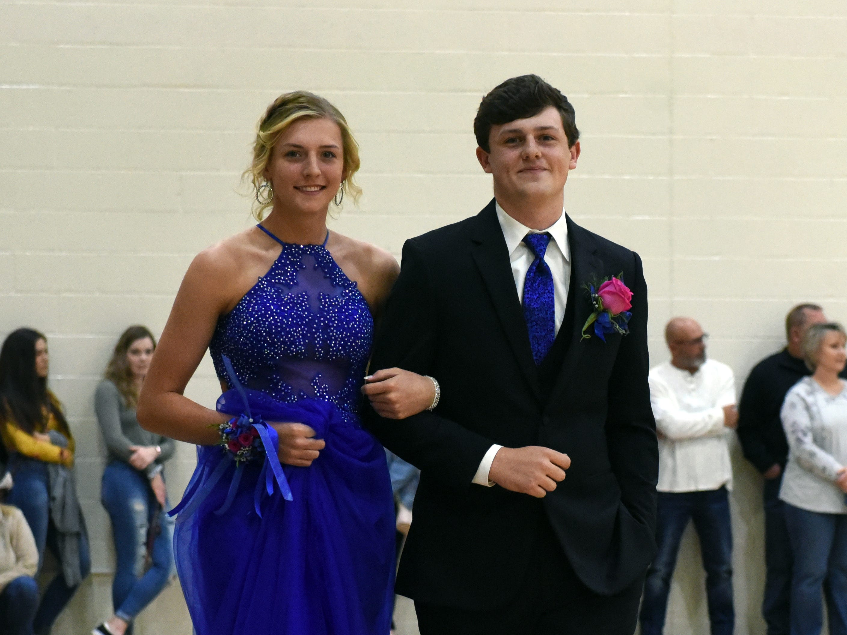 Maysville High School held its prom on Saturday night at the high school.