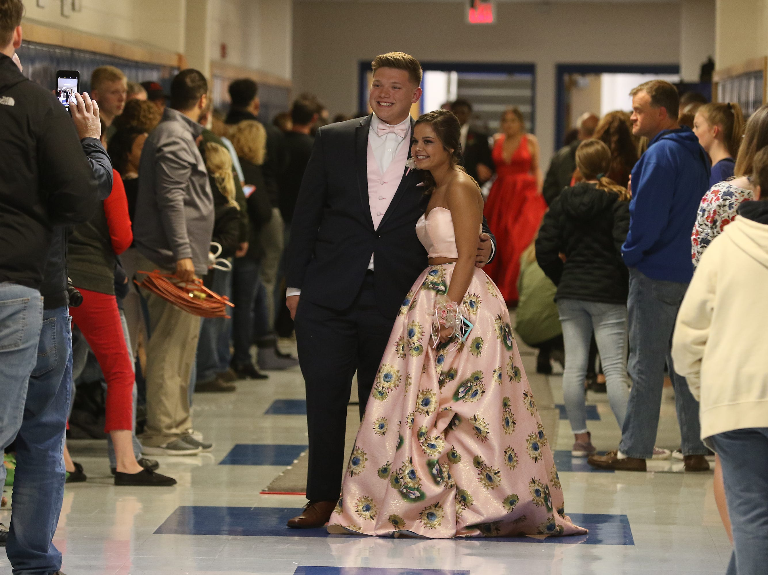 Zanesville High School held its prom Saturday night. The theme was Welcome to the Carnival.