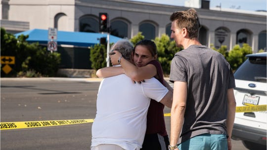 Synagogue shooting leaves one dead, several injured