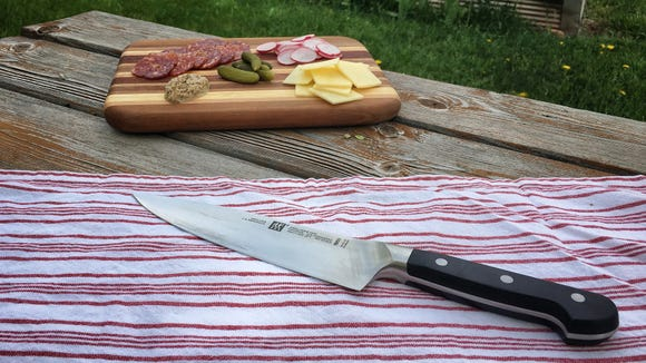 Craft the perfect charcuterie board with the best chef's knife.