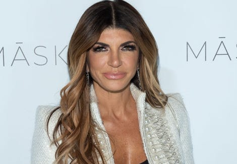 Teresa Giudice attends the launch of MASK skincare.