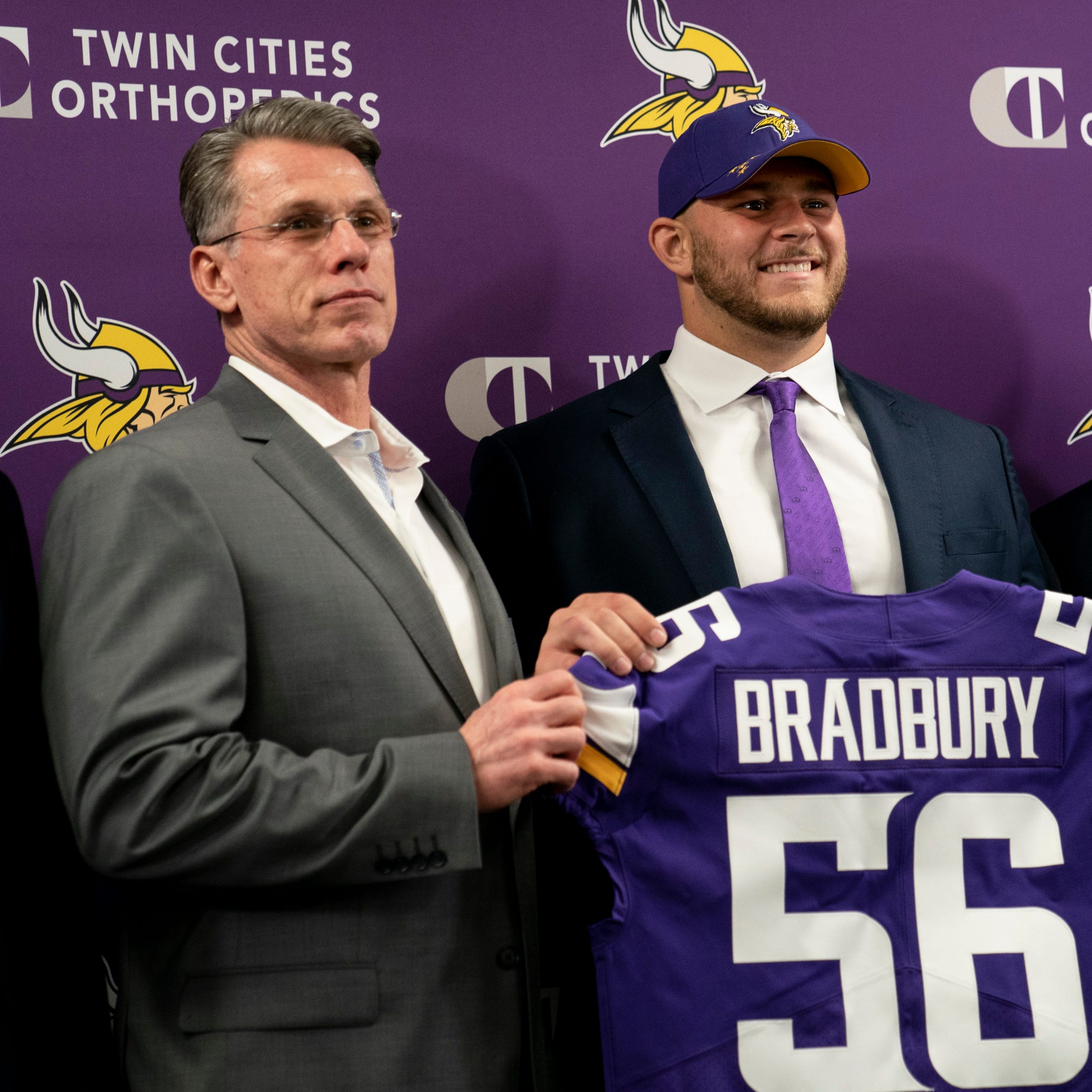 As expected, offensive needs dominate draft for Vikings