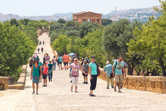 Some of the best-preserved buildings from antiquity are found in Agrigento's Valley of the Temples, an ensemble of ancient Greek temples built 2,500 years ago.