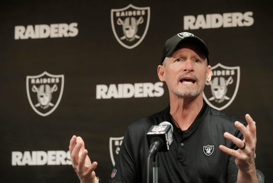 Oakland Raiders general manager Mike Mayock.
