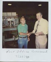 Joe Puhusky retired from the U.S. Postal Service in Binghamton in 1990.