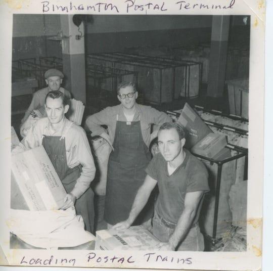 Joe Puhusky worked for the U.S. Postal Service in Binghamton.