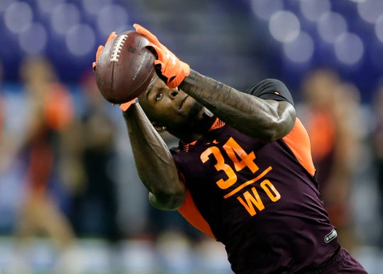 Mississippi wide receiver D.K. Metcalf fell to the second round of the NFL Draft last week, but Jim Moore ranks him among the most likely candidates from the Seahawks recent draft class to have an impact in 2019.