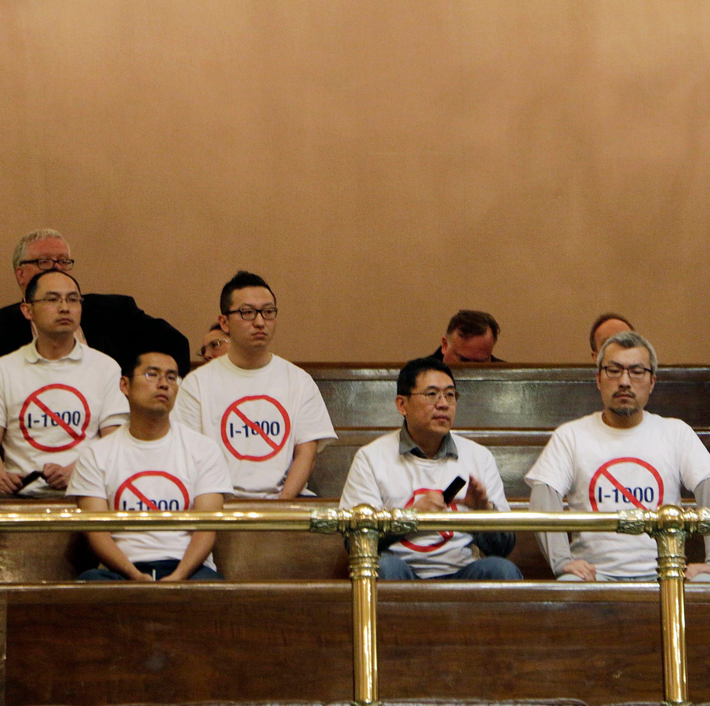 Affirmative action initiative passes Washington Legislature