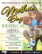 Brunch on base at Naval Base Kitsap-Bangor is an option for active-duty families wanting to honor mom.