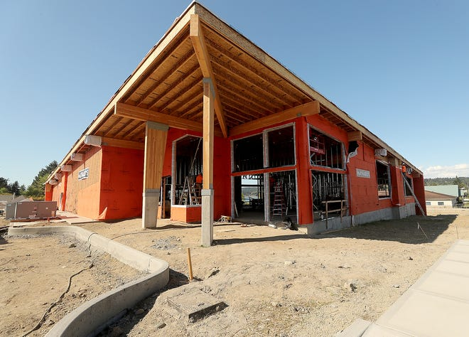A restaurant, event space and grab-and-go market is planned at Maynard's currently under construction on Bucklin Hill in Silverdale.