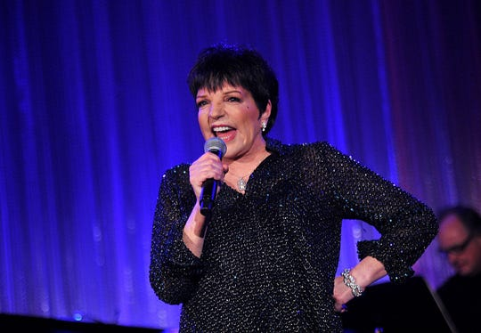 Liza Minnelli performs at the Dramatists Guild Fund's 50th Anniversary Gala in New York City.Minnelli has been spotted in Brevard eating at Melo's in Indian Harbour Beach.