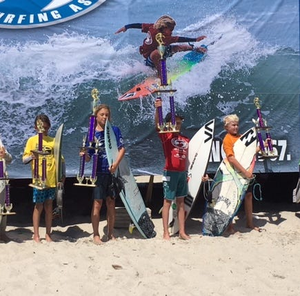 Brevard fares well in Eastern Surfing Association Regionals