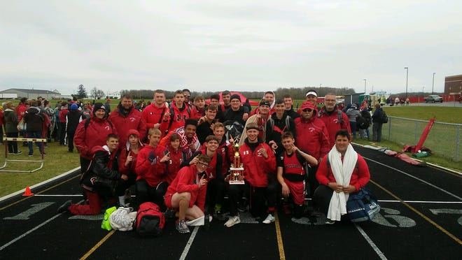 Bucyrus track was poised to compete for a Northern 10 title this year.