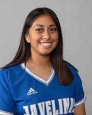 Texas A&M Kingsville freshman Saidi Castillo (Santa Gertrudis): Earned her 22nd win, allowing only 2 hits for her 8th shutout against UT Permian Basin for the LSC conference title.