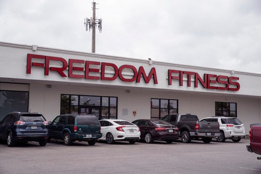The Freedom Fitness at 3231 S. Alameda St.