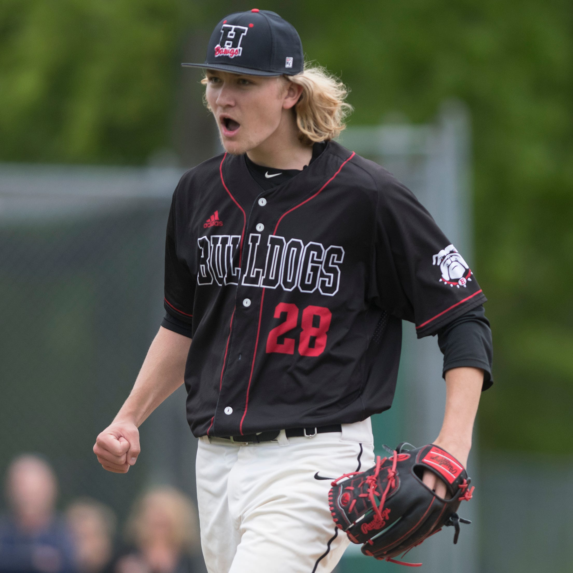 South Jersey baseball: Dylan Heine shines as Haddonfield tops Audubon