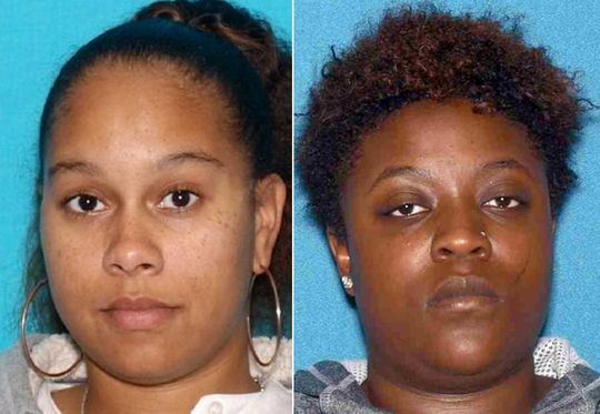 Martha Ruiz, left, and Kendall Crouch are accused of abusing a disabled man at Bancroft.