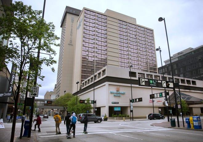 The Millennium Hotel in downtown Cincinnati