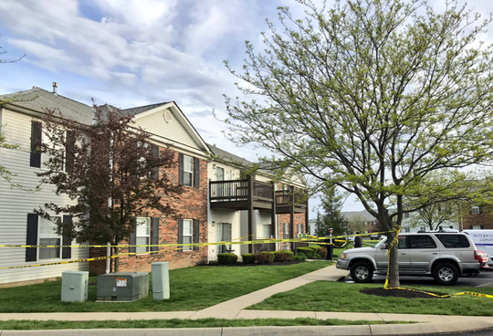 Four people were found dead in a West Chester Township, Ohio, apartment April 28, 2019, after a man called 911 to say his family was on the floor bleeding.