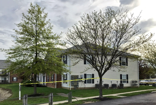 Four people were found dead in an apartment in this building at Lakefront at West Chester (Ohio) on Sunday, April 28, 2019. Police said Monday, April 29, 2019, that all the victims were related.
