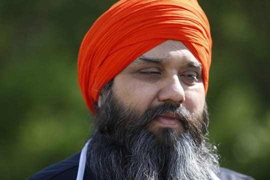 Jasminder Singh, president of the executive committee of Guru Nanak Society of Greater Cincinnati West Chester said one of the people found dead Sunday night was Hakikat Singh Panag, whom he knew for 11 years. Police have not confirmed Panag's name. Four people were found dead at Lakefront at West Chester apartment complex, according to police. Photo shot Monday, April 29, 2019.