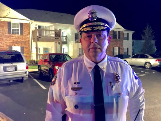 West Chester Township Police Department Chief Joel Herzog