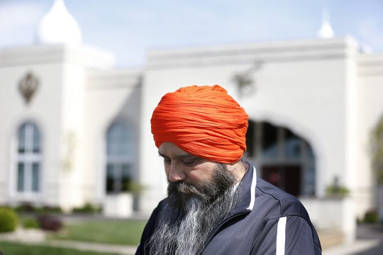 Jasminder Singh, president of the executive committee of Guru Nanak Society of Greater Cincinnati West Chester said one of the people found dead Sunday night was Hakikat Singh Panag, who he's known for 11 years. Police have not confirmed Panag's name. Four people were found dead at Lakefront at West Chester apartment complex, according to police. Photo shot Monday, April 29, 2019.