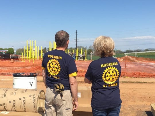 This event the club's ongoing mission to generate support for local projects, including Clarksville Rotary Park, Field of Dreams and Splash Pad, an all-abilities splash park.