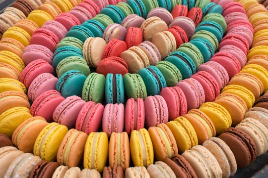 Woops! has open a kiosk for macaroons at the Bridgewater Commons