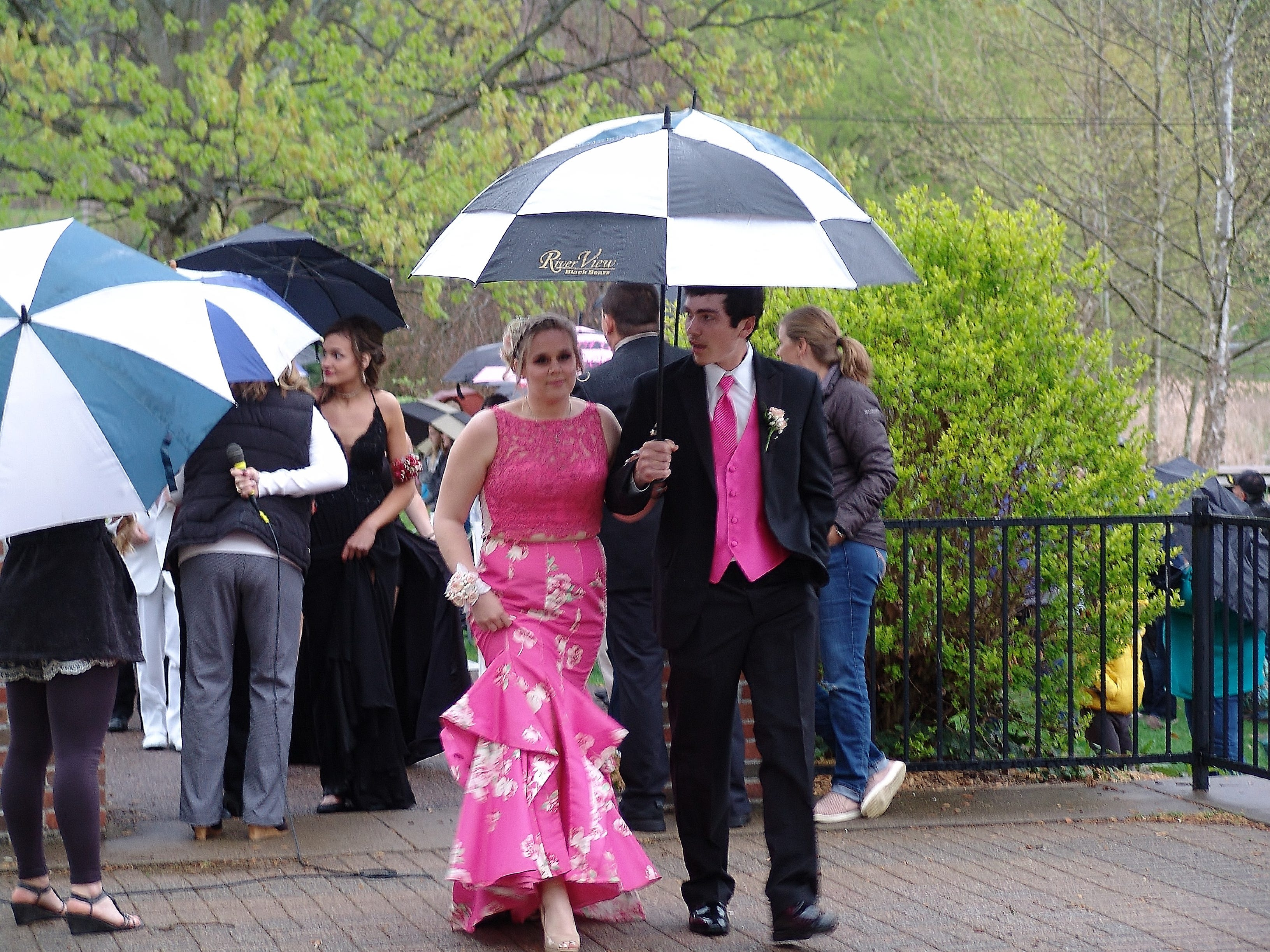 "River View High School students held their prom Saturday evening in the Lake Park Pavilion. The theme was ""Night of a Thousand Lights."""