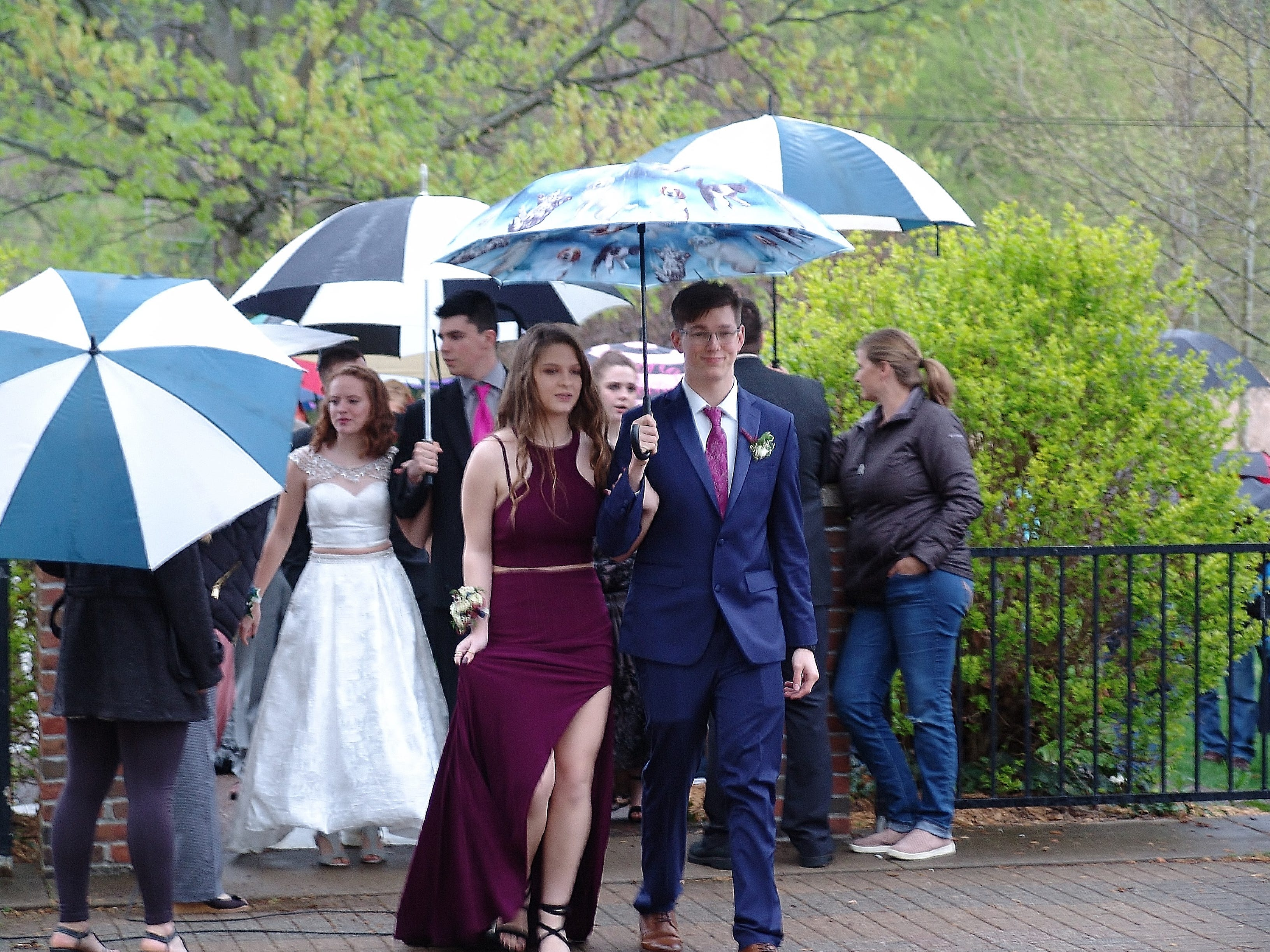 """River View High School students held their prom Saturday evening in the Lake Park Pavilion. The theme was """"Night of a Thousand Lights."""""""