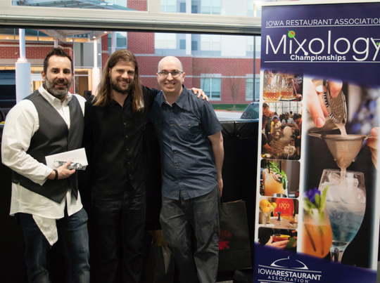 The Iowa Restaurant Association's State Mixology Championships held April 25th at Smash Park in West Des Moines.