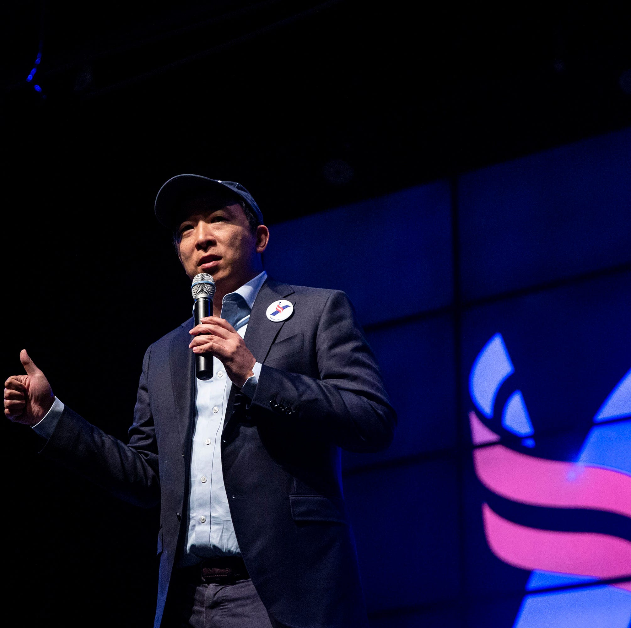 Presidential hopeful Andrew Yang hologram may appear somewhere near you