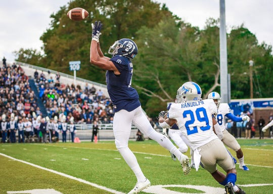 Old Dominion receiver Travis Fulgham was drafted in the sixth round of the 2019 NFL draft by the Detroit Lions.