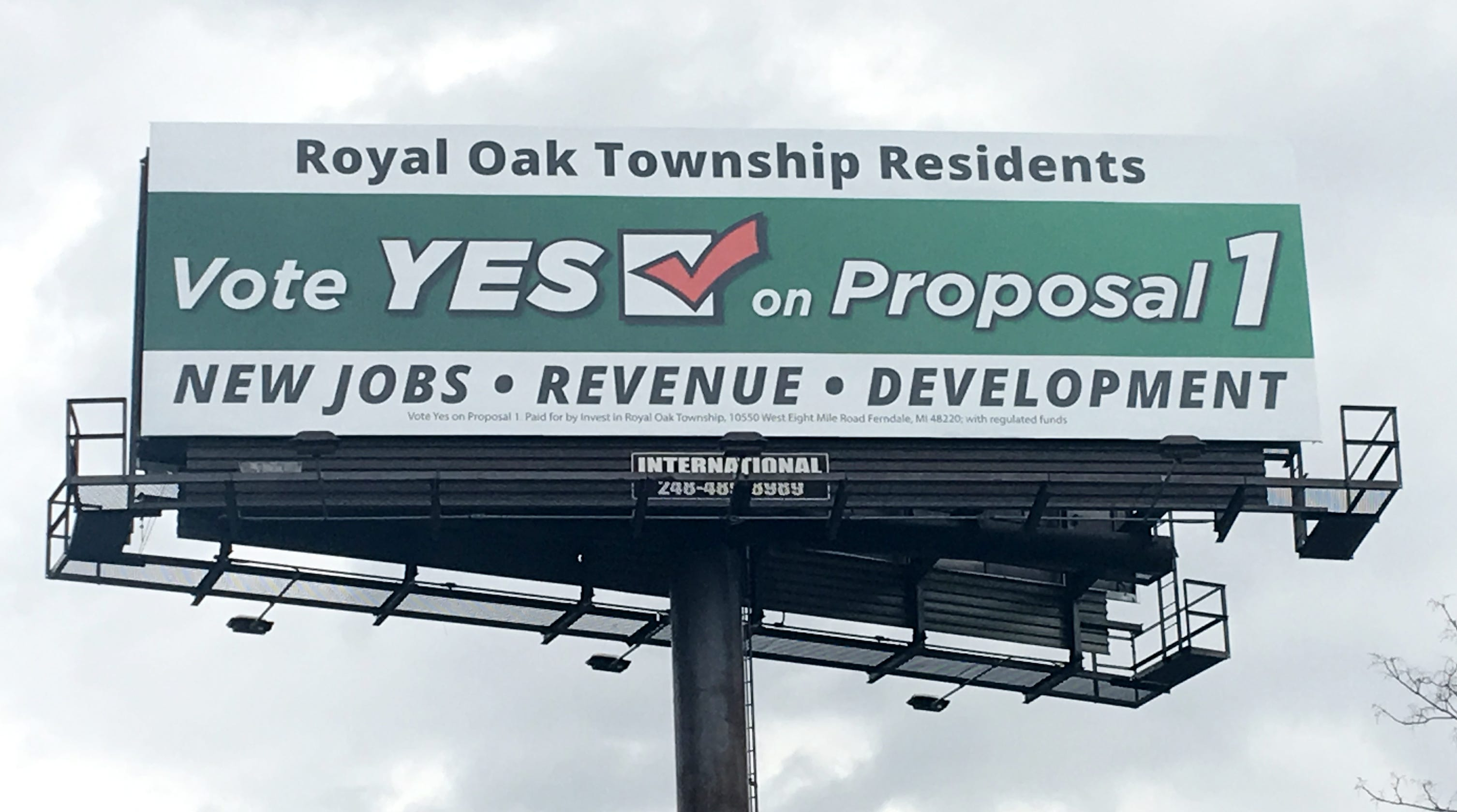 Royal Oak Township voters could nix ban on legal marijuana businesses