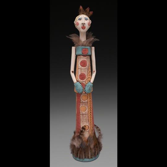 Kimberly Rorick / ceramicist of Ossain , IN