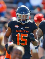 A strong final season at Old Dominion earned wide receiver Travis Fulgham a spot in the Senior Bowl. He was selected in the sixth round of the NFL Draft by the Lions.