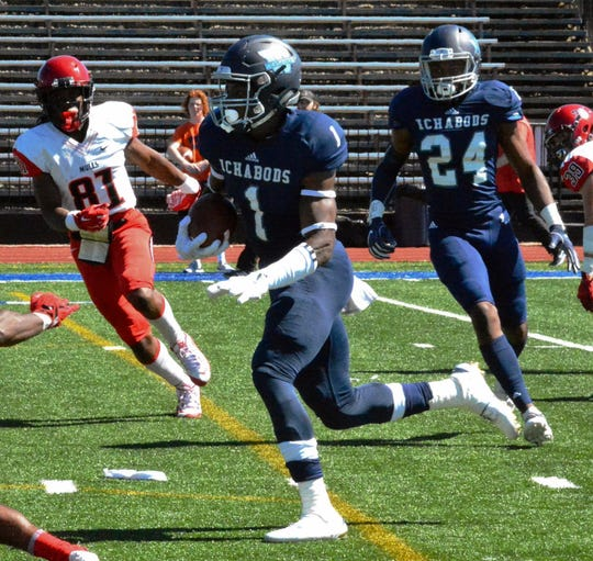 Washburn defensive back Corey Ballentine was picked by the Giants in the sixth round of the NFL Draft Saturday.