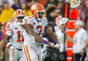 The Lions took Clemson defensive end Austin Bryant (7) with their fourth-round pick.