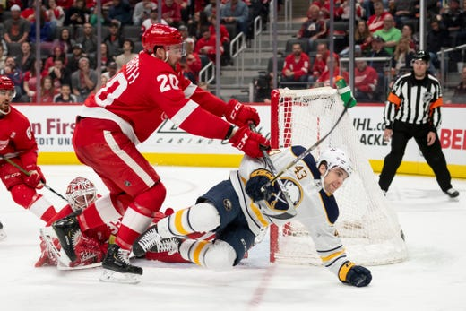 Could Anthony Mantha, Andreas Athanasiou Fetch Red Wings A