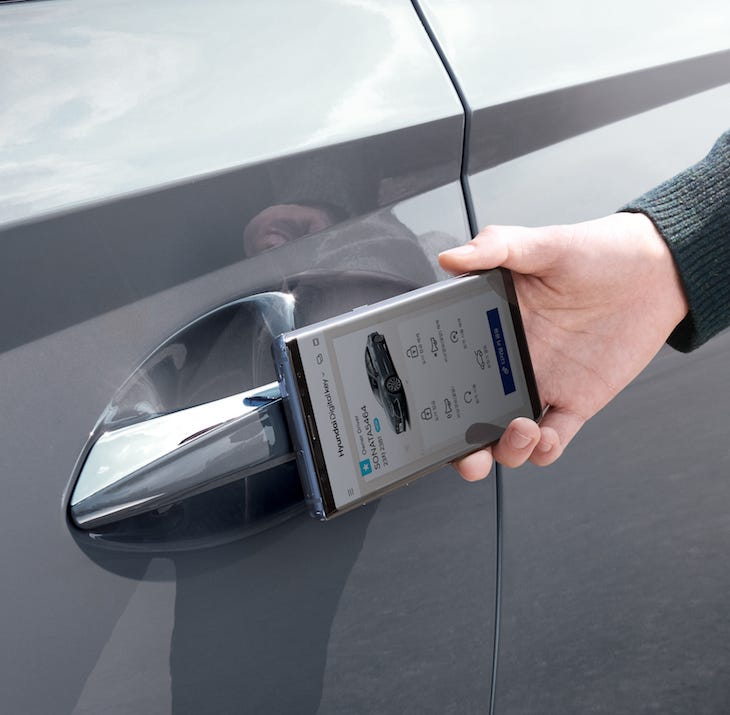 Soon, your phone will replace your car's key fob