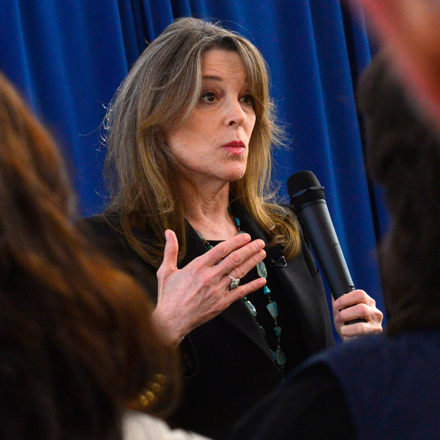 Presidential hopeful Marianne Williamson: 'Detroit is a piece of my heart'