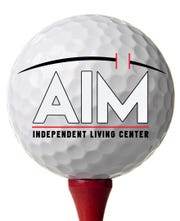 AIM Independent Living Center will host its annual fundraising golf tournament Sunday.