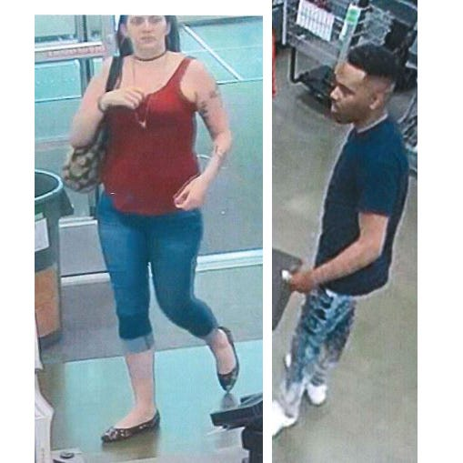 Police seek pair suspected of passing counterfeit $100 bills